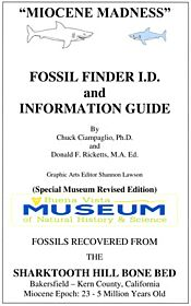 Sharktooth Hill Fossil Finder's and Information Guide By Ciampaglio & Ricketts