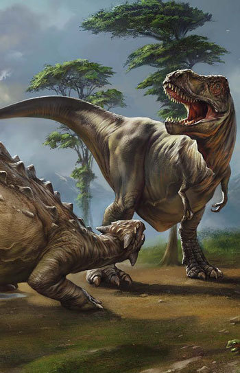 The Secret Behind The Popularity Of The Tyrannosaurus